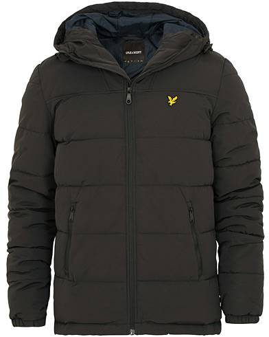 Lyle & Scott Wadded Jacket True Black