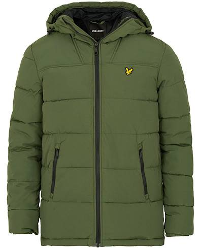 Lyle & Scott Wadded Jacket Green