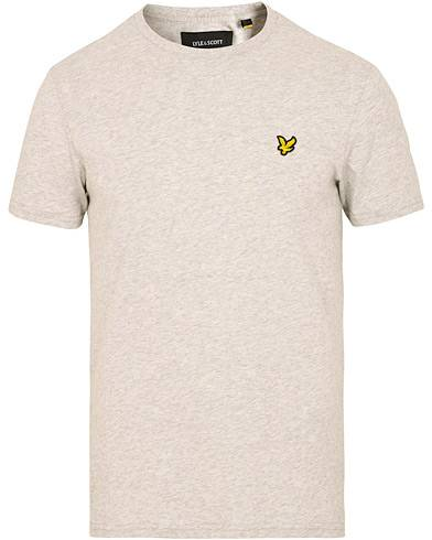 Lyle & Scott Crew Neck Tee Light Grey Marl