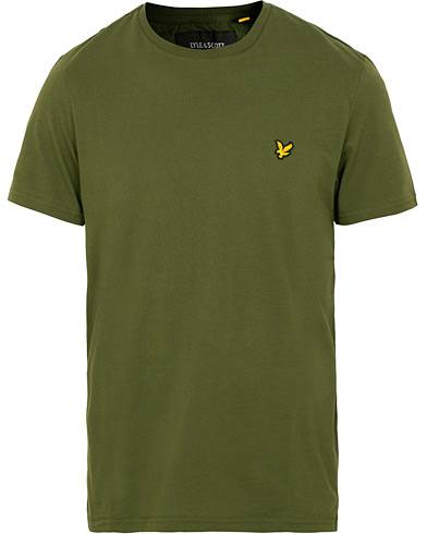 Lyle & Scott Crew Neck Tee Green