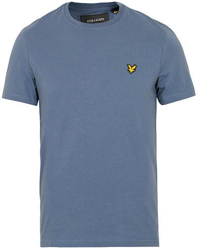 Lyle & Scott Crew Neck Tee Indigo Blue