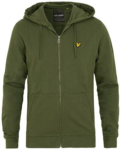 Lyle & Scott Full Zip Hoodie Green