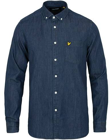 Lyle & Scott Denim Shirt Dark Indigo
