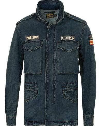Ralph Lauren Denim Field Jacket Harrison Wash