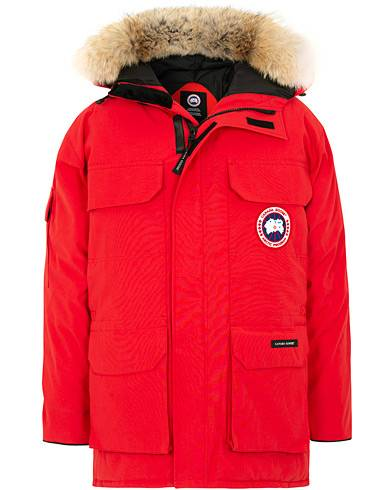 Canada Goose Expedition Parka Red