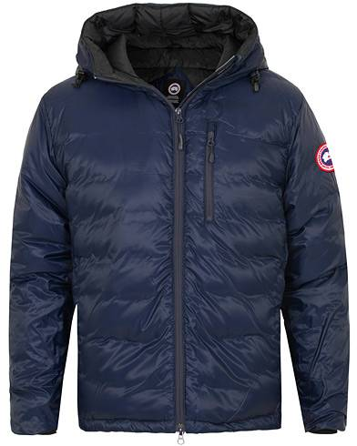 Canada Goose Lodge Hoody Down Jacket Admiral Blue