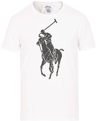 Image of Ralph Lauren Polo Player Tee White