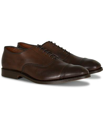 Allen Edmonds Park Avenue Oxford Brown Burnished Calf