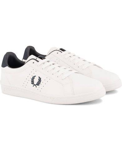 Fred Perry Park Side Leather Sneaker White/Navy