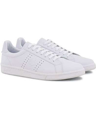 Fred Perry Parkside Leather Sneaker White