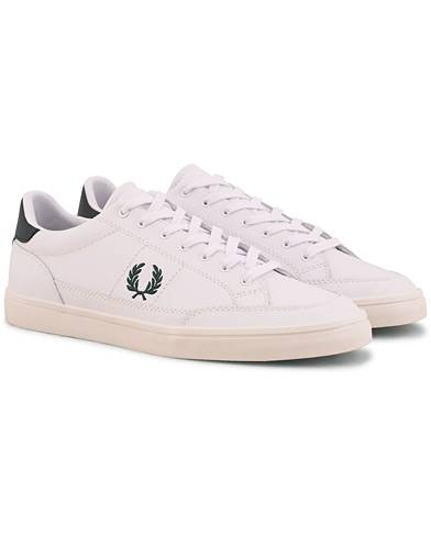 Fred Perry Deuce Leather Sneaker White