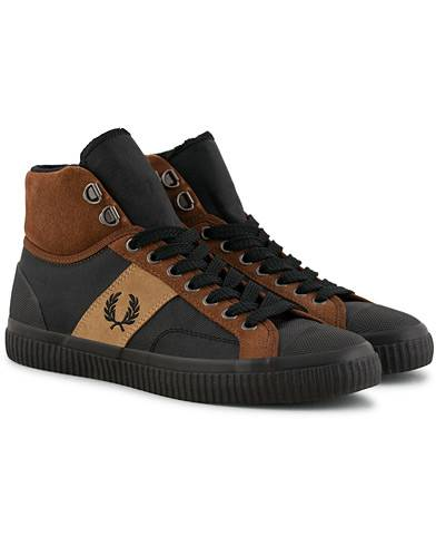 Fred Perry Hughes Mid Hike Boot Brown/Black