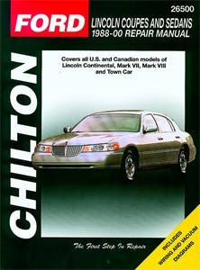 Lincoln Coupes and Sedans 1988 - 01, Universal