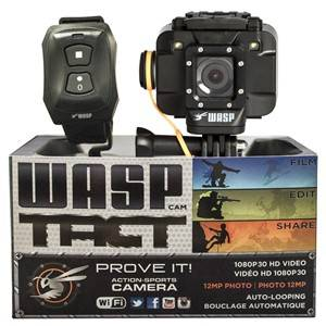 WASPcam T.A.C.T. Action Camera, Universal
