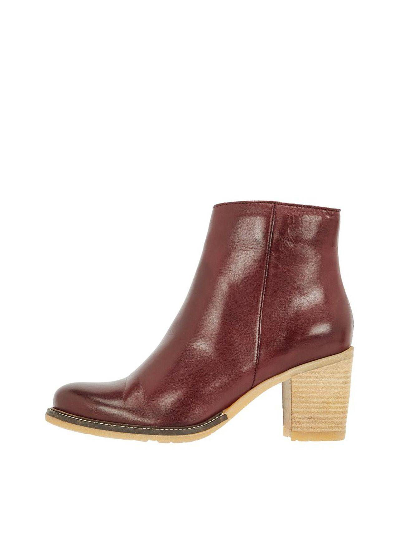 BIANCO Suede Cas. Ankle Boots Women Red