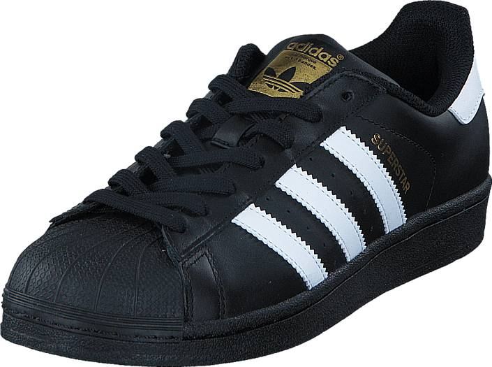 adidas Originals Superstar Foundation Black/White, Kengät, Sneakerit ja urheilukengät, Sneakerit, Musta, Unisex, 39