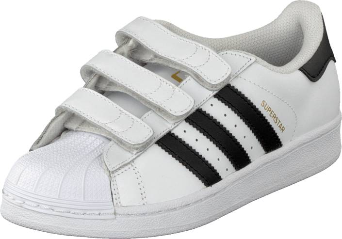 adidas Originals Superstar Foundation Cf C White/Black, Kengät, Sneakerit ja urheilukengät, Sneakerit, Valkoinen, Unisex, 34