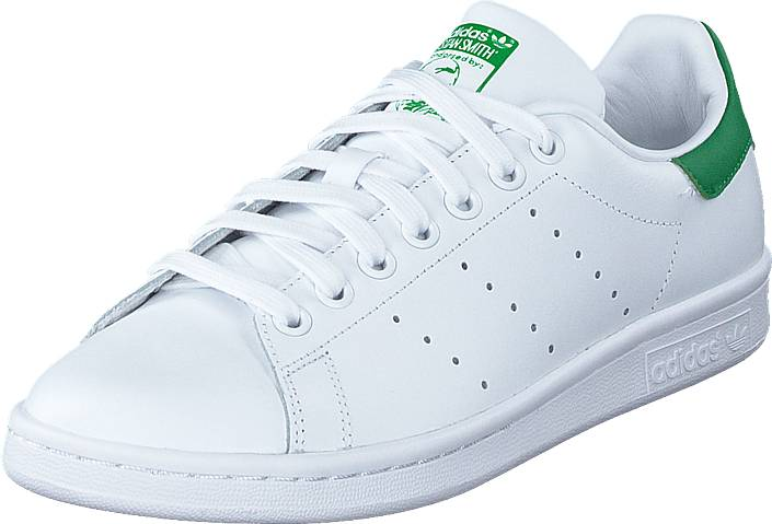 adidas Originals Stan Smith Running White/Fairway, Kengät, Sneakerit ja urheilukengät, Sneakerit, Valkoinen, Unisex, 48