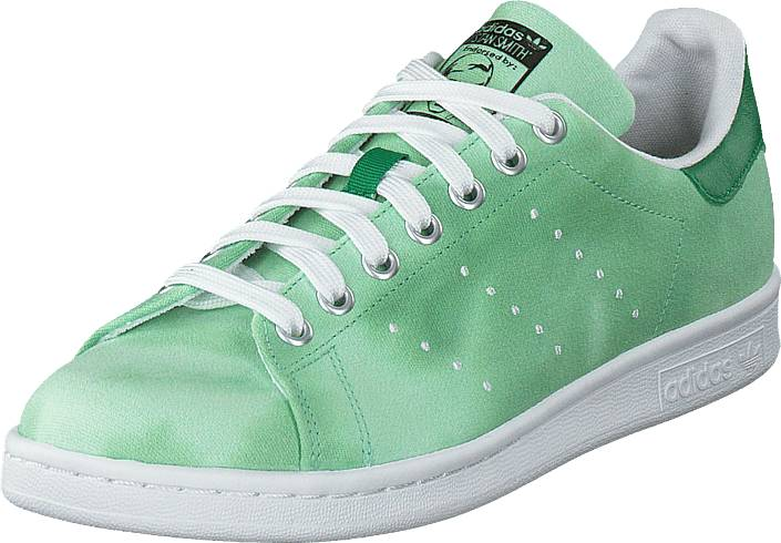 adidas Originals Pw Hu Holi Stan Smith Ftwr White/Ftwr White/Green, Kengät, Sneakerit ja urheilukengät, Sneakerit, Vihreä, Unisex, 38