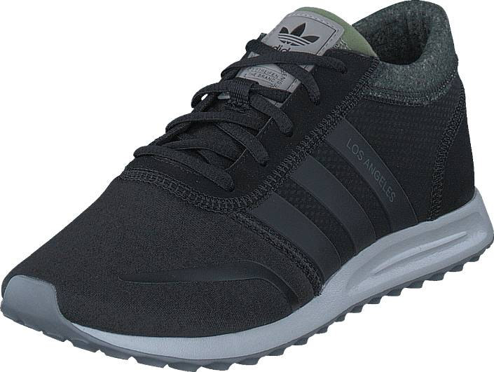 adidas Originals Los Angeles Core Black/Core Black/Grey One, Kengät, Sneakerit ja urheilukengät, Sneakerit, Musta, Unisex, 39