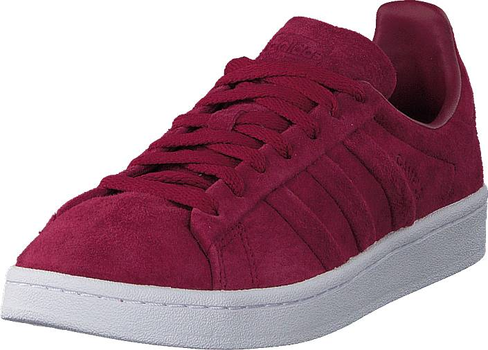 adidas Originals Campus Stitch And Turn Mystery Ruby F17/Ftwr White, Kengät, Sneakerit ja urheilukengät, Sneakerit, Vaaleanpunainen, Violetti, Unisex, 37