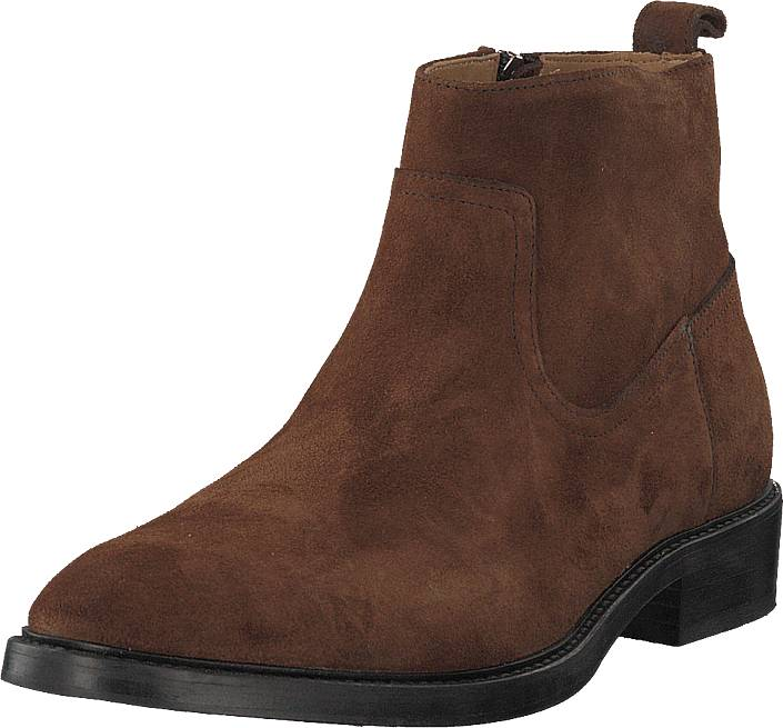 Tiger of Sweden Barant S Brown, Kengät, Bootsit, Chelsea boots, Ruskea, Miehet, 45