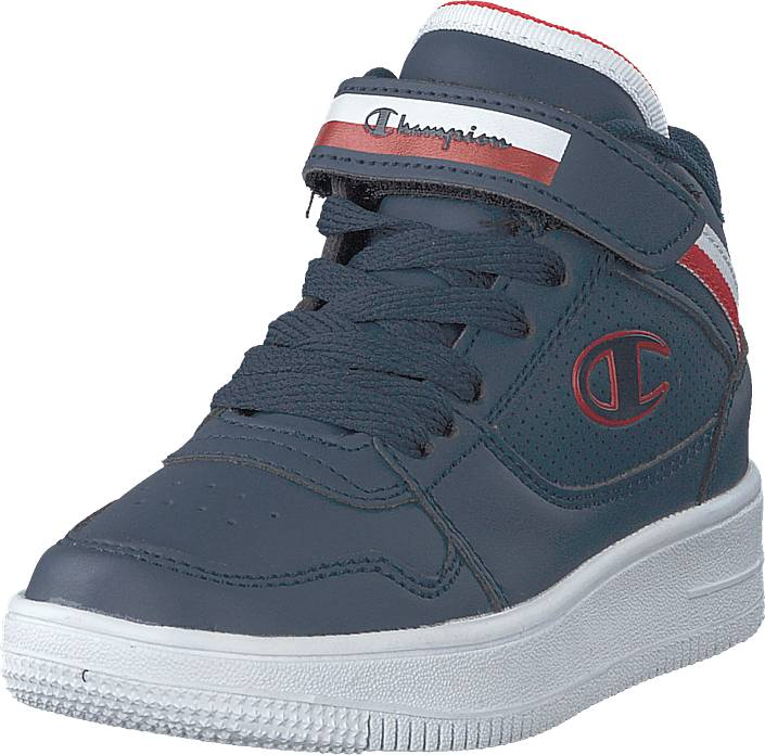 Image of Champion Mid Cut Shoe Rebound Vinta Ps Sky Captain, Kengät, Sneakerit ja urheilukengät, Korkeavartiset tennarit, Sininen, Unisex, 34