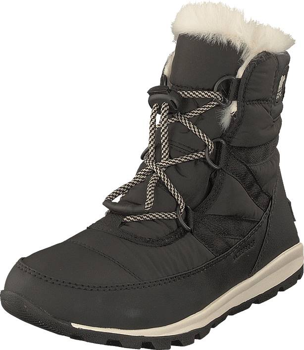 Sorel Youth Whitney Short Lace 011 Black Sea Salt, Kengät, Bootsit, Kengät, Harmaa, Unisex, 35