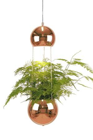 Globen Lighting Kattolamppu Mini Planter Kupari