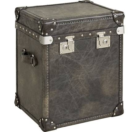 Artwood London trunk - Green leather