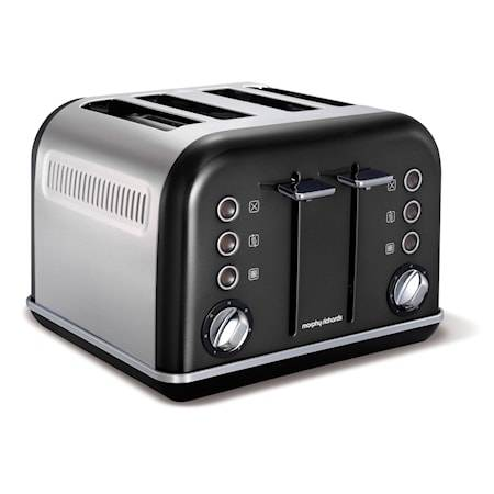 Morphy Richards Accent Musta 4 Viipaletta