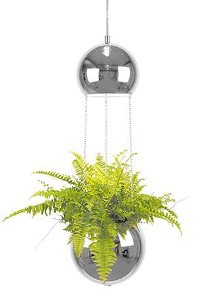 Globen Lighting Kattolamppu Mini Planter Kromi