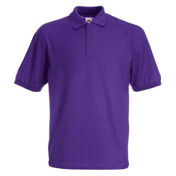 Fruit of the Loom 65/35 Polo - Lilac