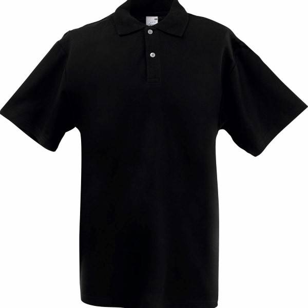 Fruit of the Loom Screen Stars Original Polo - Black