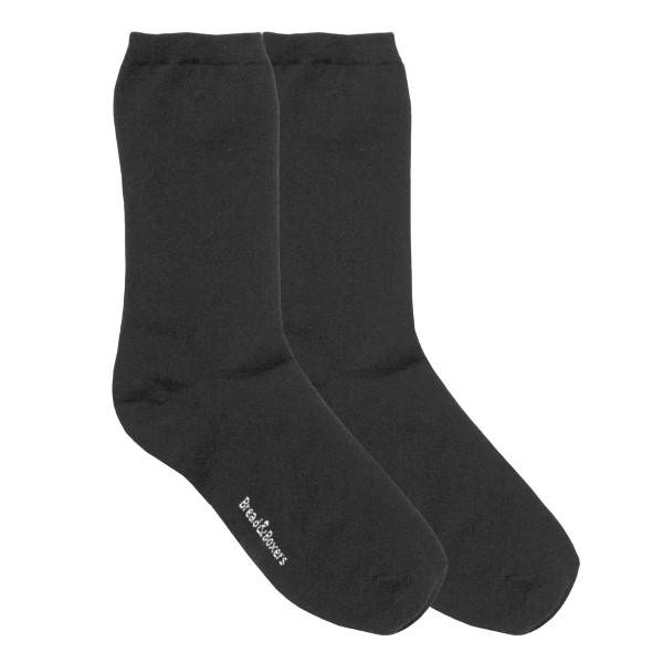 Bread & Boxers Bread and Boxers Socks Woman 2 pakkaus - Black