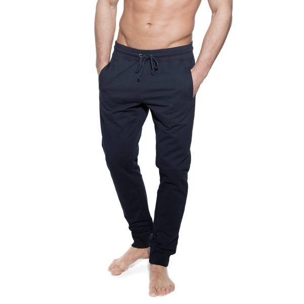 Bread & Boxers Bread and Boxers Lounge Pant - Navy-2