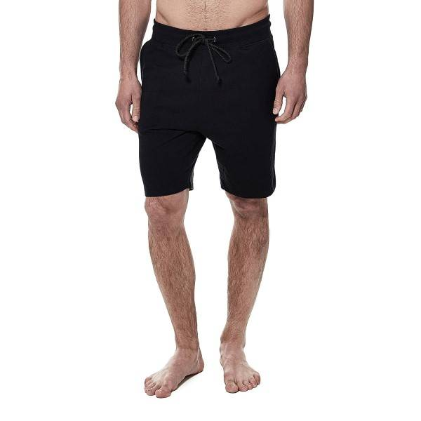 Bread & Boxers Bread and Boxers Lounge Short - Black - X-Large