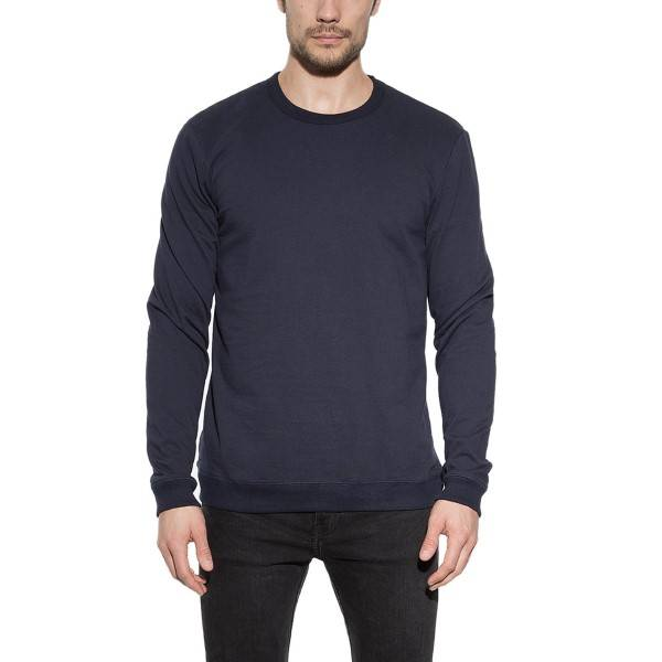 Bread & Boxers Bread and Boxers Sweatshirt - Navy-2 - Large