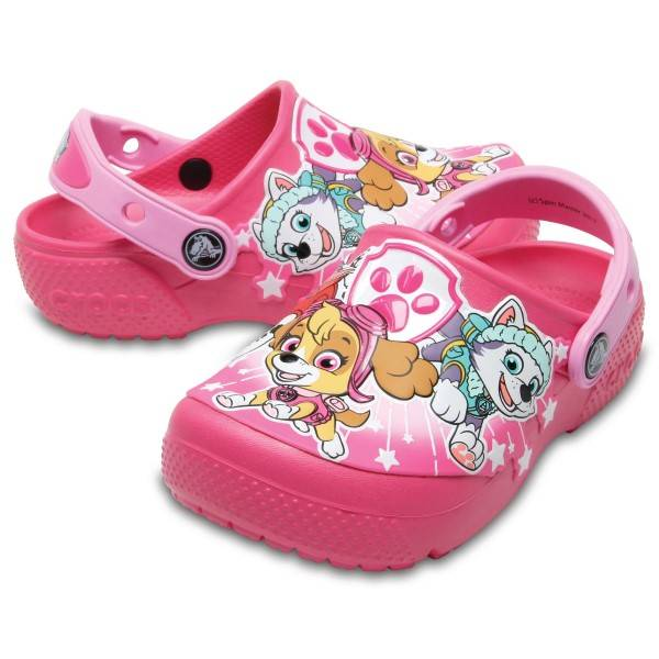 Crocs Fun Lab Paw Patrol Clogs - Pink