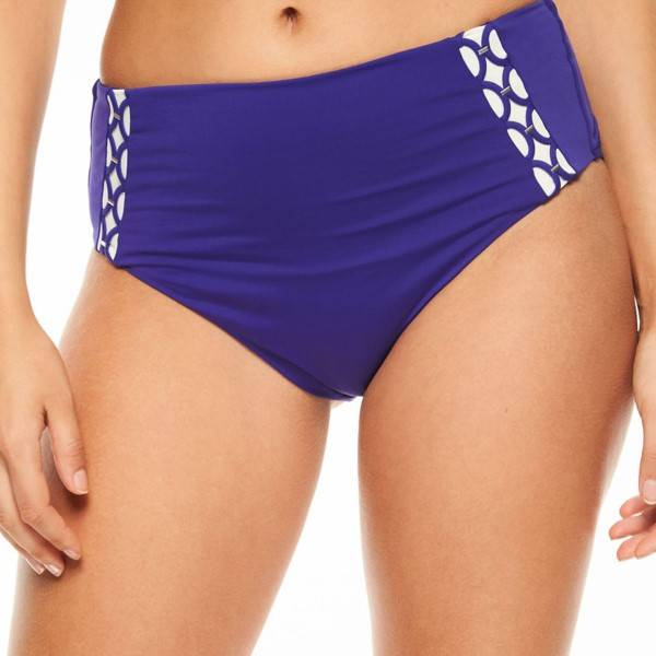 Chantelle Cala Nova High Bikini Brief - Lilac