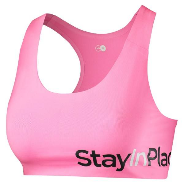 Stay In Place StayInPlace Active Sports Bra C-D - Pink