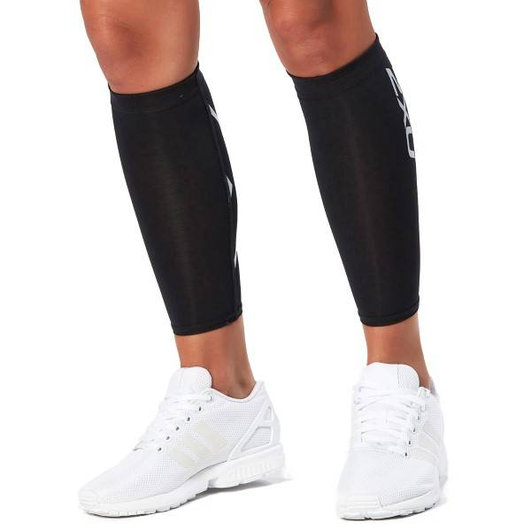 2XU Compression Calf Guards Unisex - Black