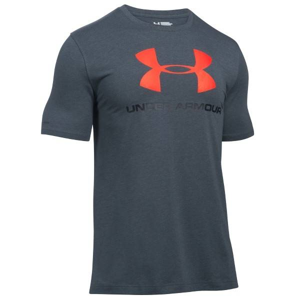 Under Armour Charged Cotton Sportstyle Logo - Grey/Red * Kampanja *