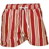 Resteröds Original Swimwear - Red striped - Medium