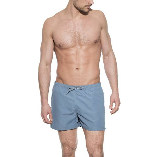 Bread & Boxers Bread and Boxers Swim-Trunk - Blue - Large