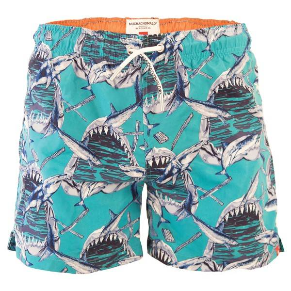 Muchachomalo Swim Sharkx Boardshort - Pattern-2 - Small * Kampanja *
