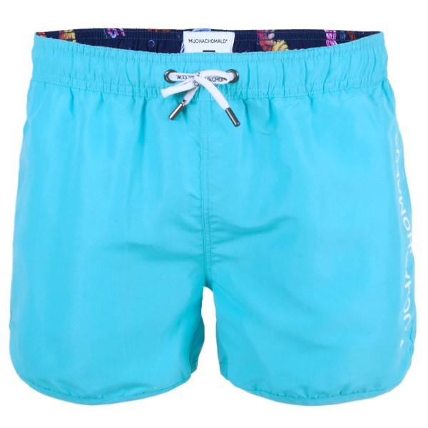 Muchachomalo Swim Solid Boardshort - Turquoise - Medium