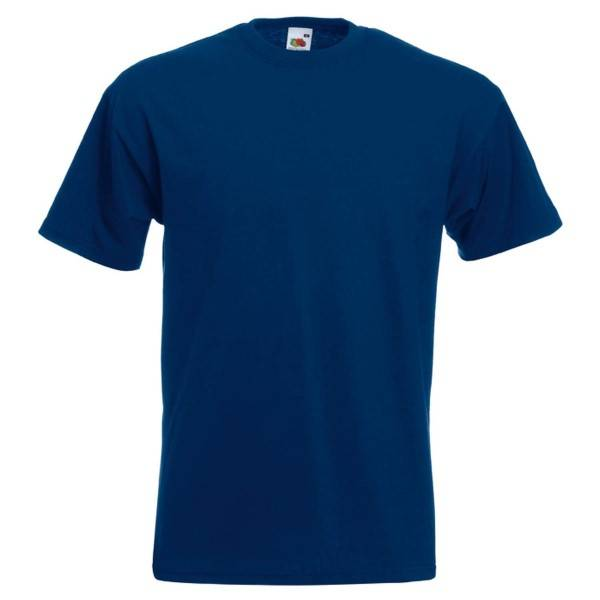 Fruit of the Loom Valueweight Crew Neck T - Navy-2 - 3XL