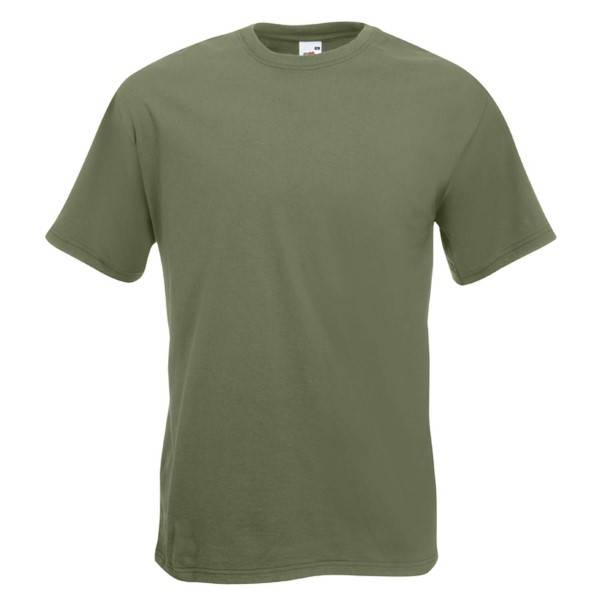 Fruit of the Loom Valueweight Crew Neck T - Olive