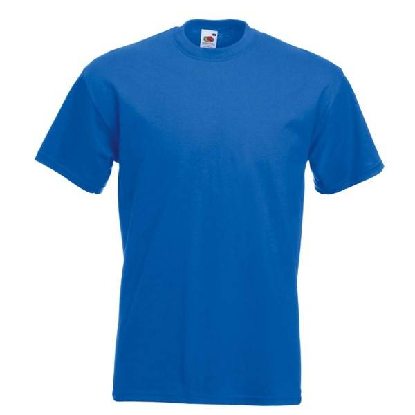 Fruit of the Loom Valueweight Crew Neck T - Royalblue